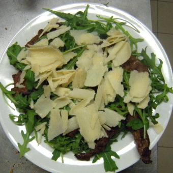 Salada Rucola Carne